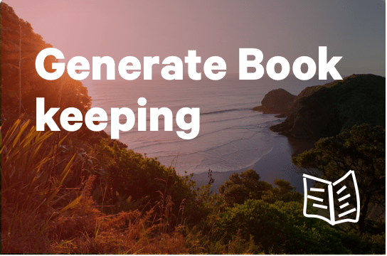 Generate Book Keeping