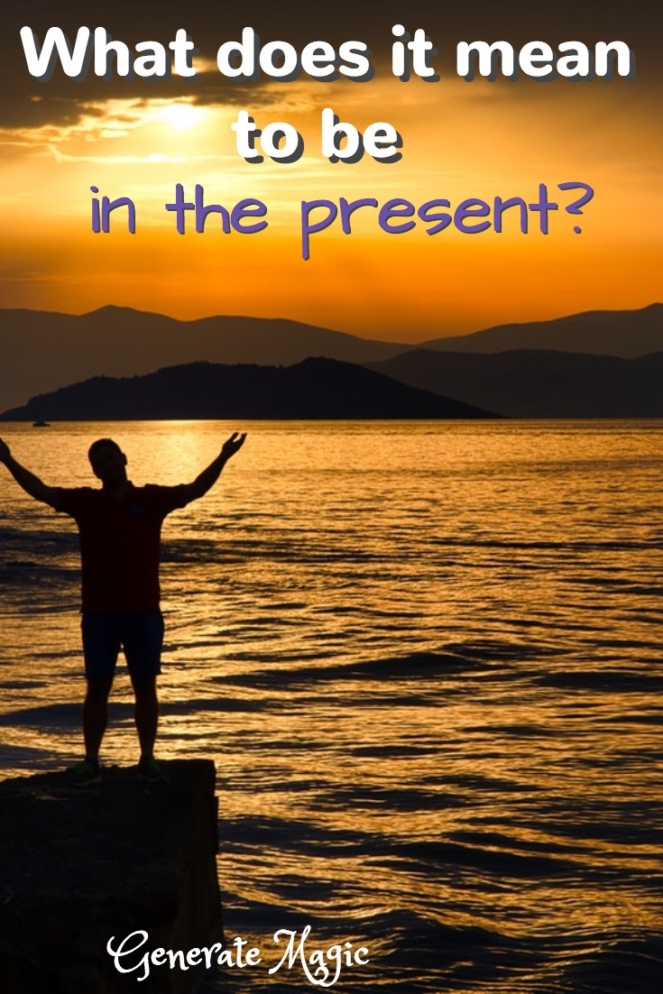 """We often hear that we should """"live in the moment"""" or """"be in the now."""" But what does this actually mean? How do you ground yourself in an age of endless distraction? 