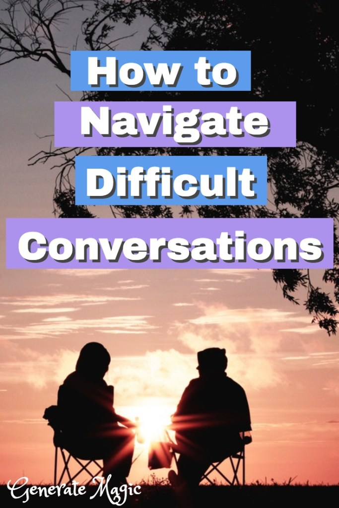 Is there a conversation you keep putting off? Are you finding it hard to focus on anything else? Addressing this issue will not only give you peace of mind but will deepen your relationships with others. Discover how to navigate difficult conversations with ease and grace. | difficult conversations | communication relationship | challenging conversations | addressing conflicts | communicate with husband | communicate effectively | communicate better |