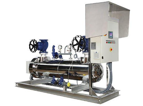 surchauffeur vapeur pour obtenir vapeur seche et elever la temperature de la vapeur