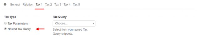 Nested WP_Tax_Query