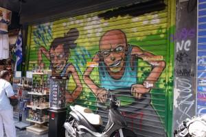 Graphiti dans Athènes