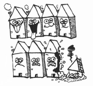 PFA Maisons démolies
