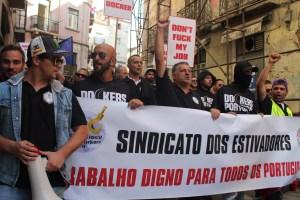 Du travail digne pour tous les portugais ©cr