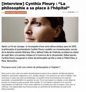 Fleury Cynthia Philosophie hopital