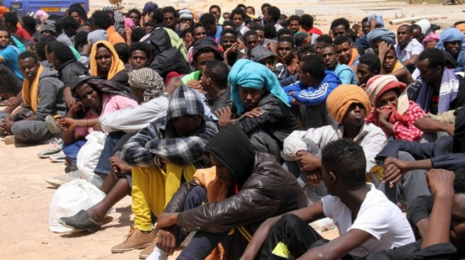Libyen Sklaven
