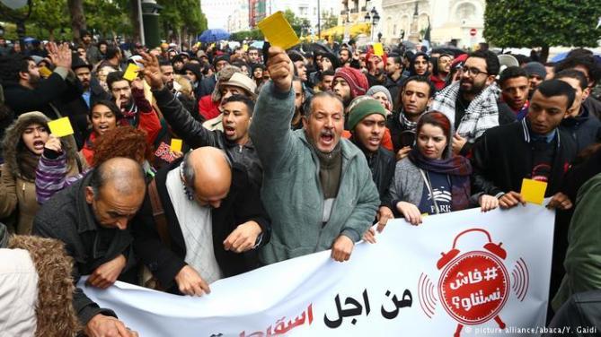 Tunesien Aufstände