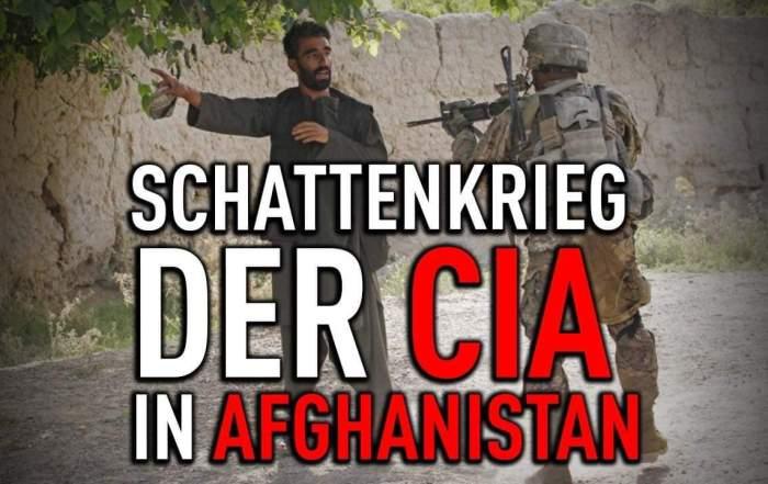 Der Schattenkrieg der CIA in Afghanistan