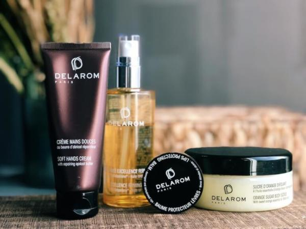 Cosmétiques naturelles aux huiles essentielles Delarom, mon avis.