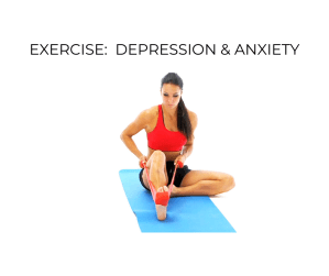 Girl Exercising to Help Her Depression