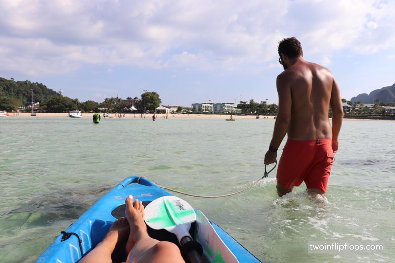 Thailand Koh Phi Phi Kayaking