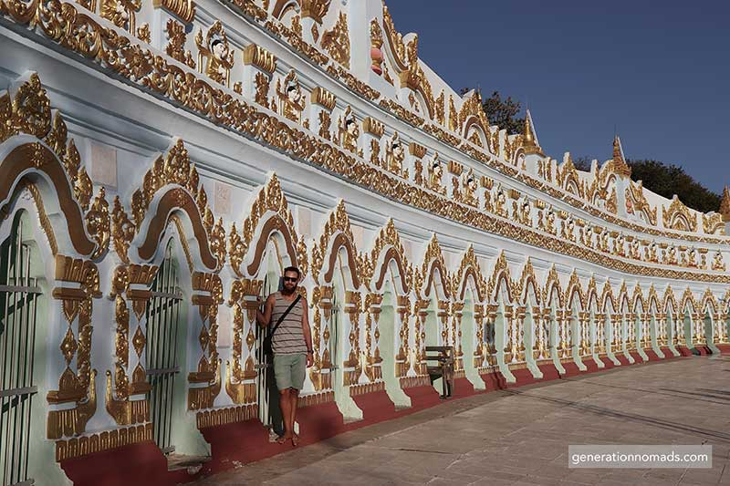 Sagaing Temple Myanmar