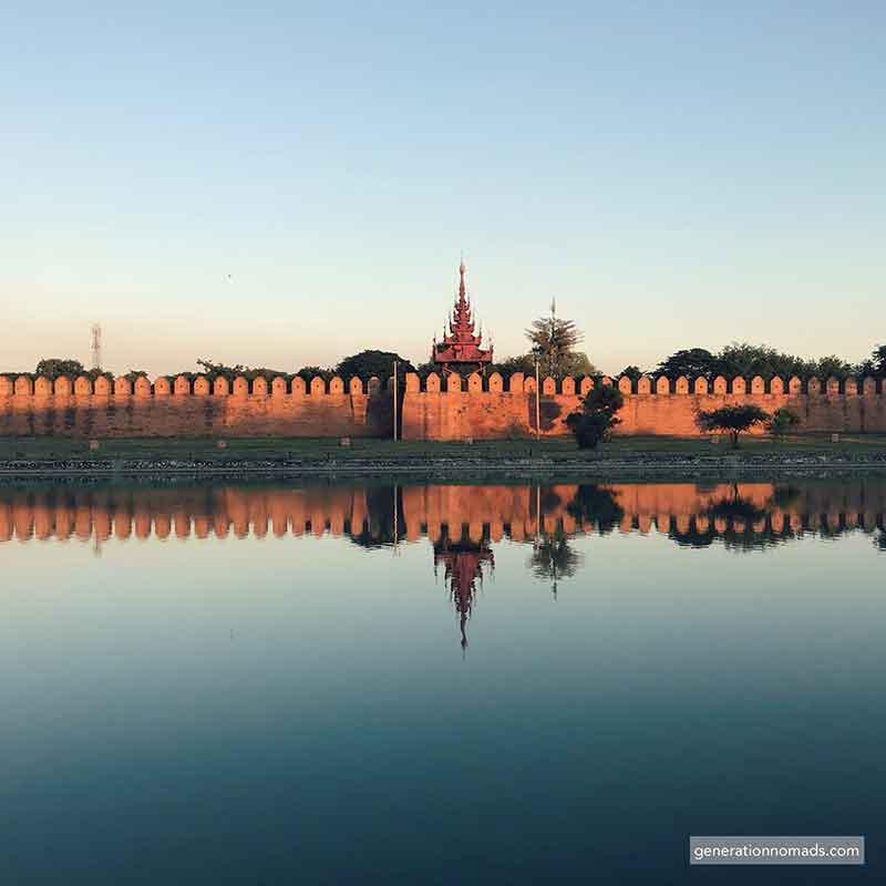 Mandalay Palace Myanmar