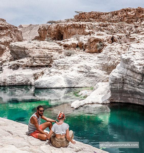 Oman Wadi Bani Khalid
