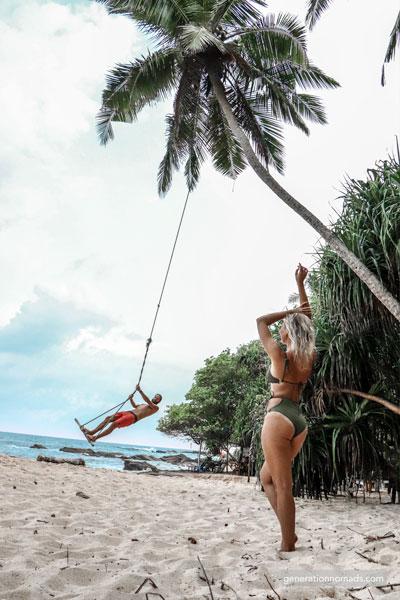 Tangalle Silent Beach Swing