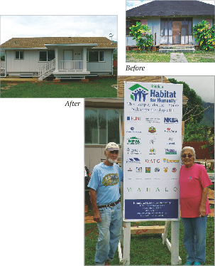 Habitat for Humanity - Generations Magazine - October - November 2011