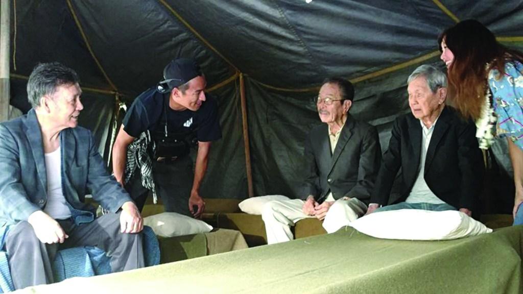 "The assistant director and executive producer chatted with veteran actor Ban Daisuke and real-life veterans, Yoshiaki ""Sharkey"" Fujitani and Ted Tsukiyama."