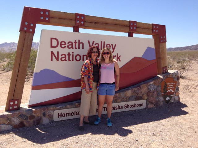Death Valley Mother Daughter Vacay