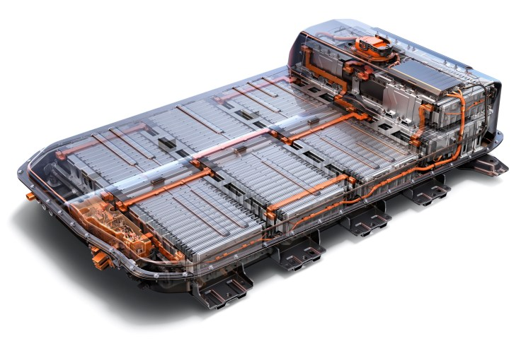 Chevrolet Bolt EV Batteriesystem