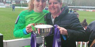 Danielle Gibbons on her women's football journey