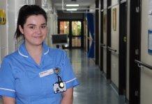 Melissa Jefferies, 25, is nurse at St Catherine's Hospice
