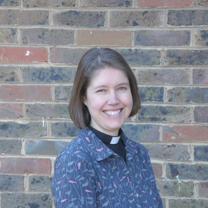 Vicar Lisa Barnett