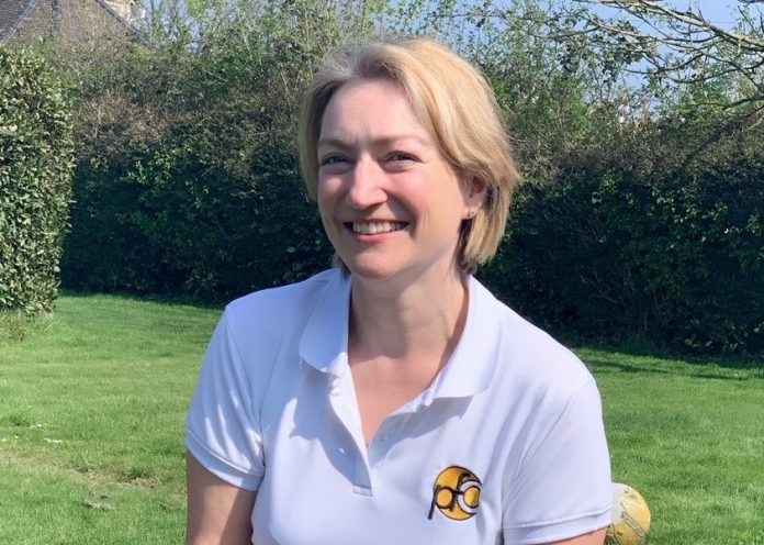 Katie Knapton set up a physiotherapy business
