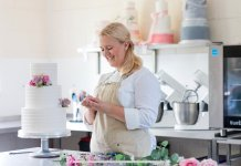 Alexandra Bishop, 28, from Southsea, Portsmouth. She opened baking business The Pastry Corner