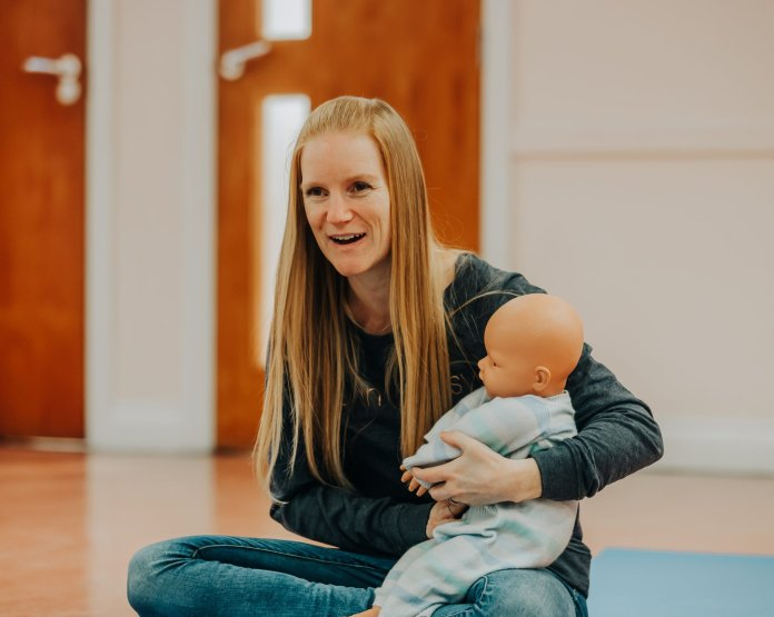 Sarah Lewis supports women through pregnancy and into motherhood