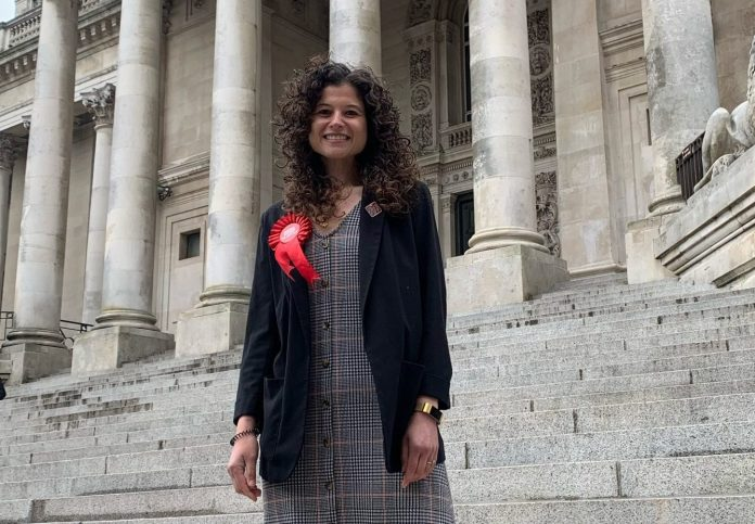 Charlotte Gerada, 33, recently became a Labour councillor for Central Southsea