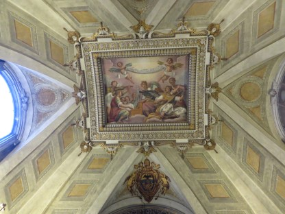 A beautiful ceiling!