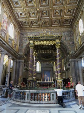 Inside one of many beautiful Churches!