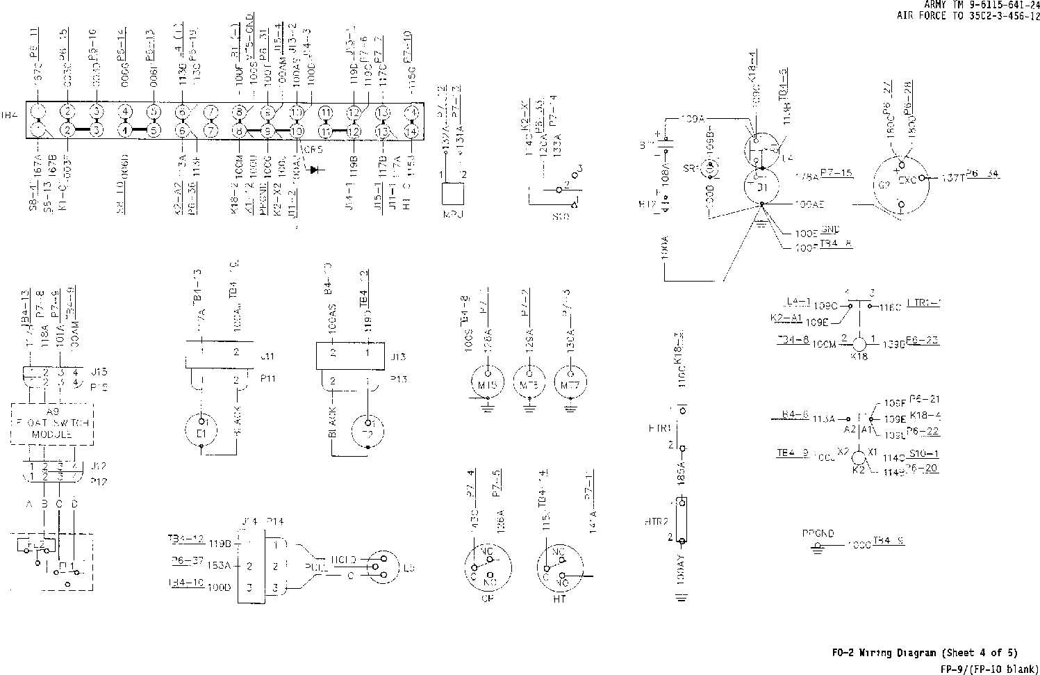 Fo 2 Wiring Diagram Sheet 4 Of 5