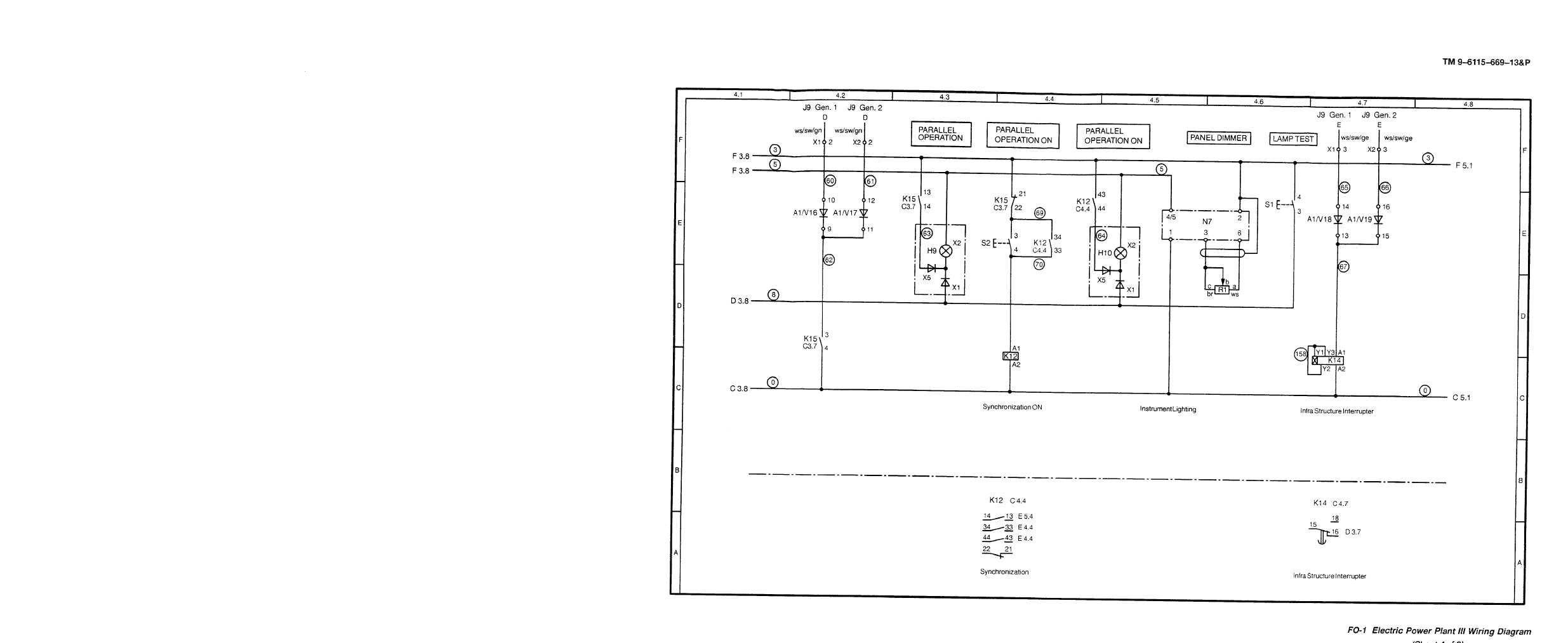 Fo 1 Electric Power Plant Iii Wiring Diagram Cont