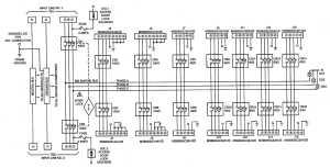 Figure FO1 Power Distribution Panel Schematic Diagram