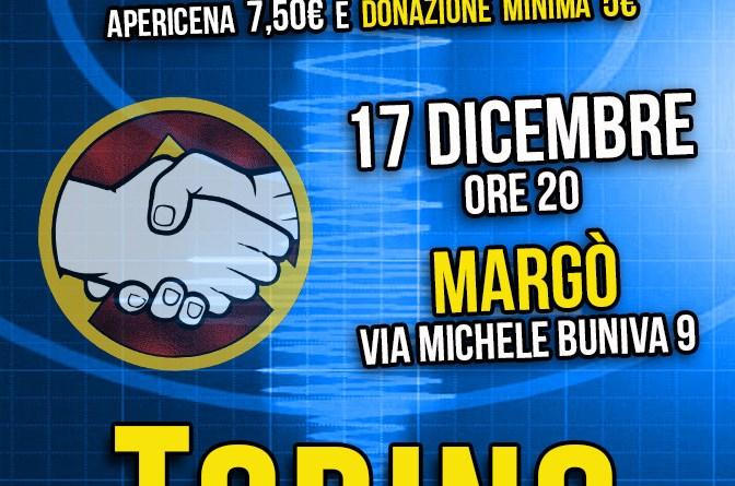 Apericena Fondo Terremotati Torino Generazione Solidaria