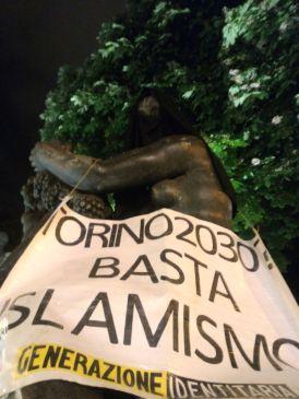 GID Torino basta islamismo