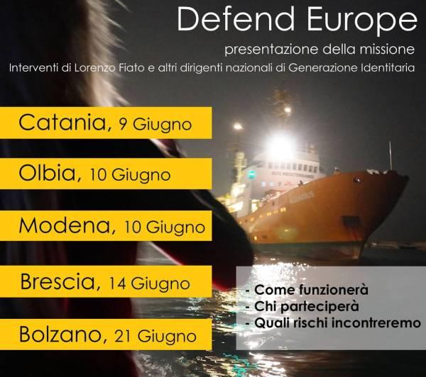 Defend Europe tour