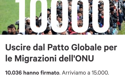 10000 firme contro il Global Compact