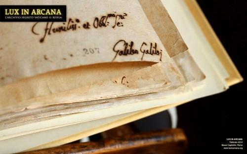 lux in arcana, abiura di Galileo