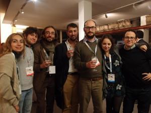 La squadra degli archeoblogger l'anno scorso a Paestum. Quest'anno siamo ancora di più!