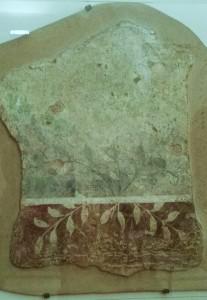 frammento di pittura parietale con viridarium dalla domus romana sotto san Pier Scheraggio