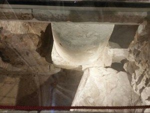 il battistero paleocristiano sotto la chiesa di San Giusto e Pastore