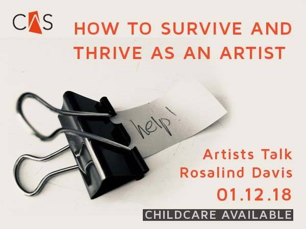 Thriving and Surviving as an Artist – Highlights from Chapel Arts Studio Careers Talk
