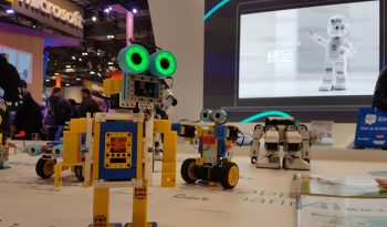 Several small robots.