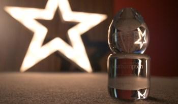 VC Awards trophy.