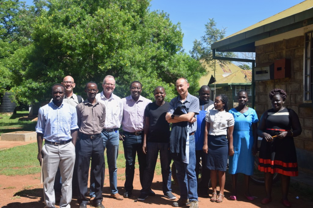 The OneHealthWater team meet staff involved in KEMRI's PBASS animal health surveillance study