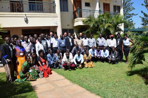 Group photo of the Startup Stakeholder's Workshop participants held at Bondo Pride Hotel on 25th May 2017.