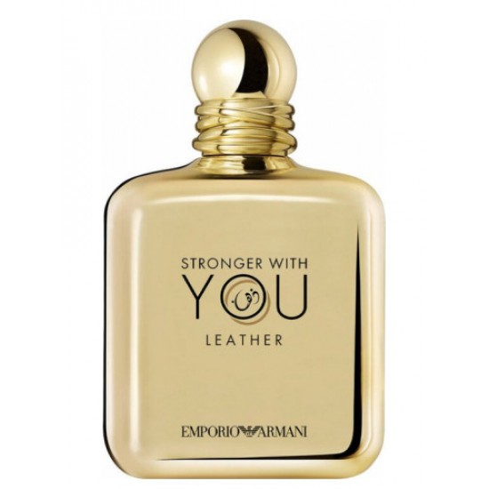 Giorgio Armani - Stronger With You Leather for Man A+