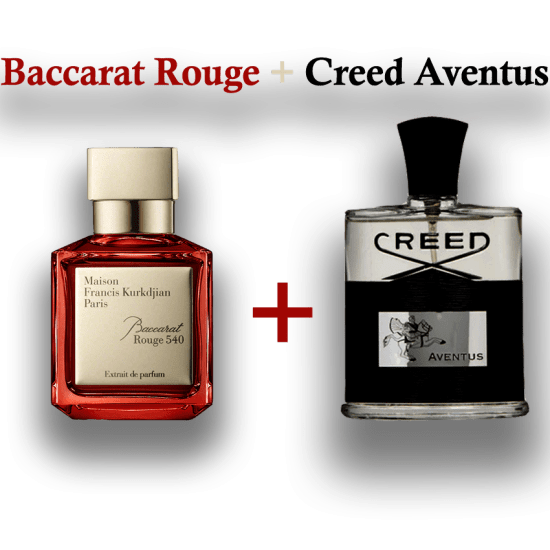 Creed Aventus + Baccart Rouge Super